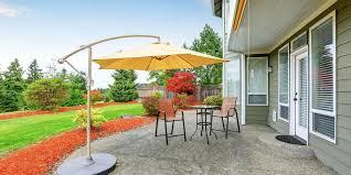 install a concrete patio this season