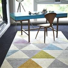 home office rug placement. Marvellous Cozy What Size Rug For Office Desk Modern Triangle Best Area Home Placement