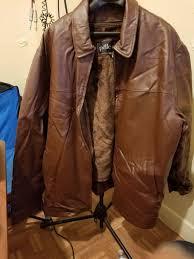 pelle moda brown leather jacket 5x