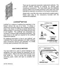 model search pss25sgnabs evaporator instructions
