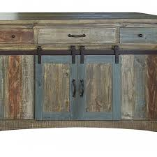 anton multi color sliding barn door kitchen island by burleson home furnishings on dot bo