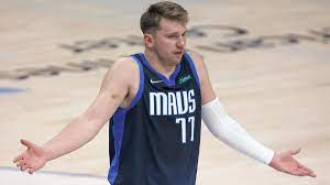 Ejected Luka Doncic one technical away ...