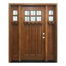 residential front doors craftsman. Entrance Doors For Homes In X Craftsman Bungalow 6 Lite Left Hand Wheat . Residential Front