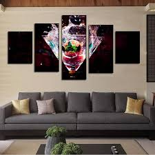 2018 kitchen dinning bar decor 5 panel fruits painting modern canvas art unframed gift painting wall art from tian7777777 20 11 dhgate com on bar themed wall art with 2018 kitchen dinning bar decor 5 panel fruits painting modern canvas