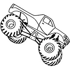 Printable Monster Truck Coloring Pages Freericardopalmeraorg