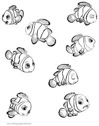 Thousands of printable coloring pages, for kids and adults! 4 Finding Nemo Coloring Pages Coworksheets