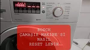 Bosch Çamaşır Makinesi Sıfırlama bosch washing machine reset - YouTube