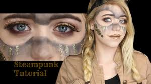steunk makeup tutorial 2 stencils steunk makeup tutorial sfx beauty