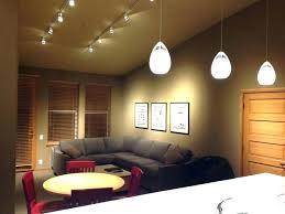 track lighting for living room. Track Lighting Living Room Modern Pendants Design In Villa For Your Interior Ideas Led