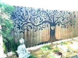 outdoor wall ideas backyard wall decor full size of wall wall art ideas garden wall art