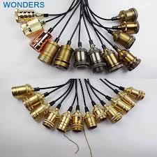 Loft <b>American Country Retro</b> Edison Bulbs copper Pendant Lights ...
