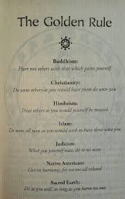 Golden Rule Quotes New The Golden Rule No Matter What Your ReligionBeliefs Quotes