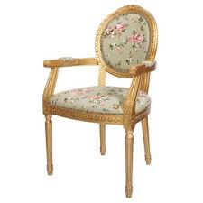 louis fl upholstered dining chair