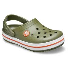 Kids Crocs Clogs Size C2 J51 Green Crocs Singapore