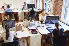 open office cubicles. Brilliant Open Example Of Open Office Without Cubicles For Employees To Open Office Cubicles