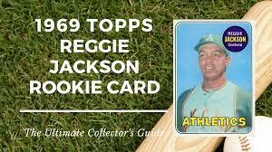 1969 Topps Reggie Jackson Rookie Card ...