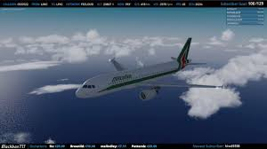 Limc Airport Charts Fslabs A320 Limc To Lfkc Calvi With Circling Approach