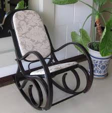 bentwood rocking chair re do inspiration