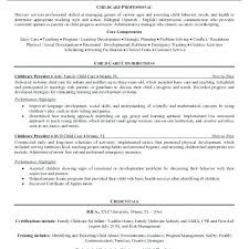 28 Authentic Child Care Worker Resume Nadine Resume