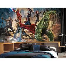 Marvel Bedroom Wallpaper Boys Wall Muralsspidermanbatmanavengerscarssupermanstarwars