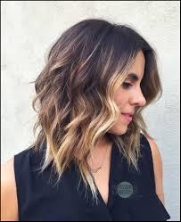10 Wavy Shoulder Length Hairstyles 2019 Good Hair Day Frisuren
