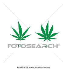 Sativa And Indica Chart Sativa And Indica Clipart K45197822 Fotosearch