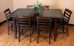 dining tables black granite dining table top designs post round