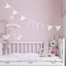 personalised bunting wall sticker