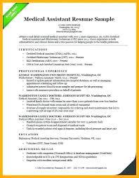 Medical Assistant Resume Skills Medical Assistant Resume Sample