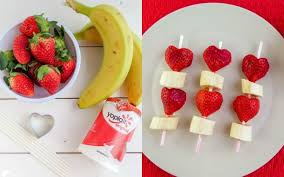 day fruit skewers valentine salad ideas cute picmonkey source 15 friendly valentines treats for kids forkly