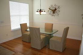 ... Dining Chair, Formal Dining With Beautiful Banboo Flooring, Crown And Chair  Rail Molding: ...