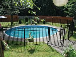Decorative Pool Fence Ornamental Consolidated Fence Inc