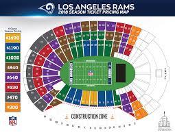 La Memorial Coliseum Seating Chart