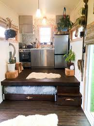 where to put a tiny house. Extra Bed Pull Out For Guests A 150 Square Feet Tiny House On Wheels Built Using SIPs With Floor-level Pullout In Cochranton, Pennsylvania Where To Put E