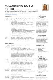 Summer Internship Resume Full Time Human Resources Summer Volunteer Internship Resume
