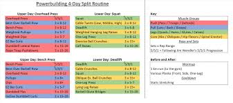Awesome Workout Program Sheet Pattern - Resume Ideas - Bayaar.info