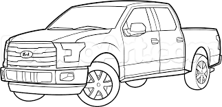 pickup truck coloring pages for kids free new pick up truck coloring page