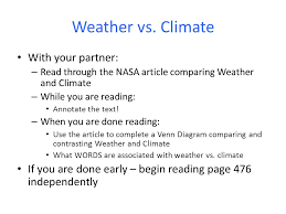 Venn Diagram Of Weather And Climate Weather And Climate Venn Diagram Diagram For You