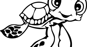 Squirt Finding Nemo Coloring Pages At Getdrawingscom Free For