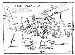 maps of fort polk