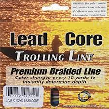 Amazon Com Tuf Line Western Filament Lead Core Trolling