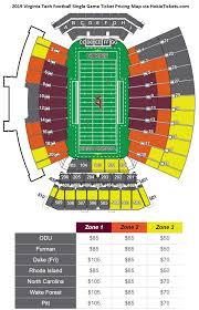 Va Tech Football Seating Chart Virginia Tech Ticket Exchange Techsideline Com