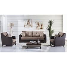 Living Room Arm Chairs Ultra 3 Pc Living Room Set Lilyum Vizon Sofa Sleeper And 2