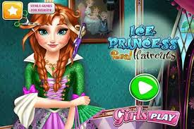 ice princess real haircuts make up games play free atmegame