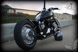 yamaha v star 650 bobber tail end customs bikermetric