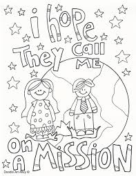 Small Picture Best Lds Missionary Coloring Page Photos New Printable Coloring