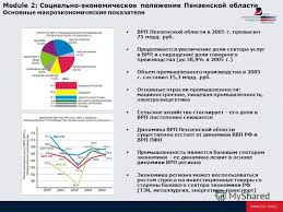 Презентация на тему ДОКЛАД Социально экономическое развитие  2 module 2 Социально экономическое положение Пензенской