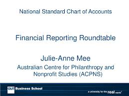 National Standard Chart Of Accounts Ppt National Standard Chart Of Accounts Powerpoint