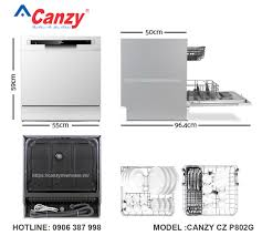Máy rửa chén 8 bộ CANZY CZ P802G