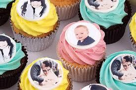 Photo Cupcakes Personalised Cupcakes Message Cupcakes